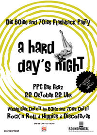 A Hard Day&#39;s Night - Die 60ies and 70ies Flashback Party