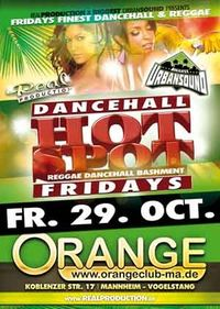 Dancehall -Friday Hot Spot