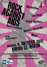 Rock against Aids-Bandcontest@Empire St. Martin