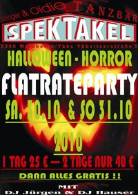 Halloween- Horror- Flatrateparty