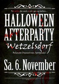 Halloween Afterparty