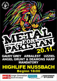Metal for Pakistan