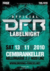 Driving Forces Rec. Labelnight