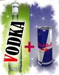 Vodka Red Bull Party