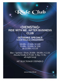 Ride with me / After Business Club@RideClub