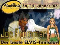 Joe Prommer - Elvis-Imitator
