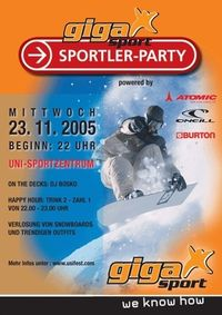 Gigasport Sportler-Party