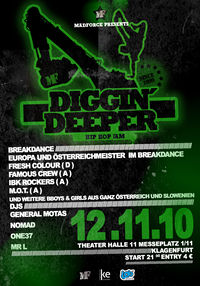 Diggin Deeper HipHop Breakdance Jam@Messehalle 11