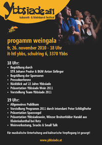 Ybbsiade Weingala 2011