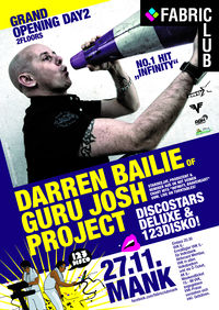 Darren Bailie of the Guru Josh Project