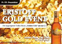 Eristoff Gold Event