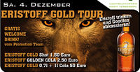 Eristoff Gold Tour