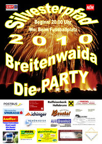 Silvesterpfad 2010 - die Party