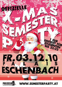 X-MAS Semester Party
