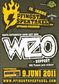 15. Pfingstspektakel Rockfestival@Mehrzweckhalle Spitzberg