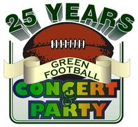 25years Green Football