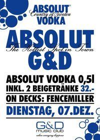 Absolut G&D