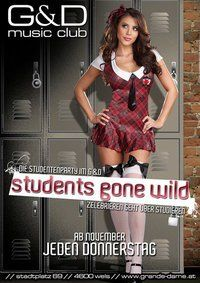 STUDENTS GONE WILD - die Studentenparty