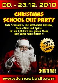 Christmas School Out Party