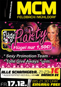 Flügel-Party!