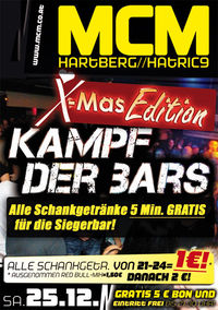 Kampf der Bars - X-Mas Edition