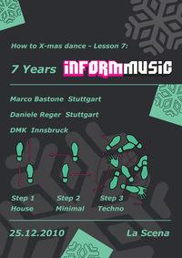 7 Years INFORM MUSIC@La Scena