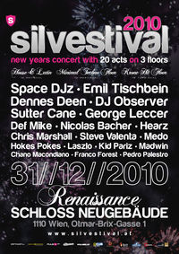 Silvestival - 20 acts on 3 floors!