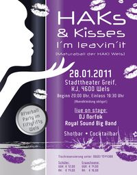 HAKs & Kisses - I&#39;m leavin&#39; it! Maturaball der HAK1 Wels