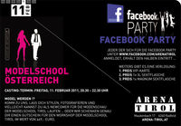 Facebook Party - Modelschool-Casting