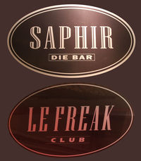 Le Freak presents Eric Fischer@Saphir - le freak