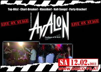 Avalon live on Stage