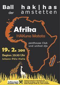 &#34;Afrika HAKund Matata!&#34; Ball der HAK/HAS Amstetten