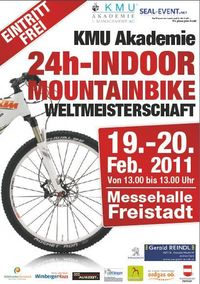 KMU-Academy 24h Indoor Mountainbike-Weltmeisterschaft 2011