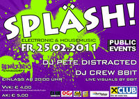Splsh! Electronic and Housemusic@Gewxhaus