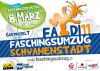 Faschingsumzug Schwanenstadt – FADI11@Sparkassenplatz
