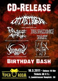 CD Release Show & Birthday Bash