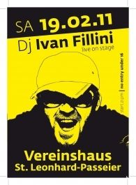 Live on Stage IVAN FILLINI