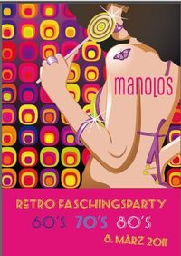 Retro Faschingsparty