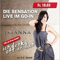 Arianna live on Stage
