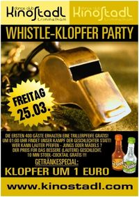 Whistle-Klopfer Party