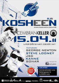 Eristoff Tracks presents Kosheen Djs