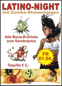 Latino-Night mit Zumba-Showeinlagen