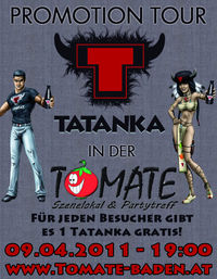 Tatanka Promotion Tour