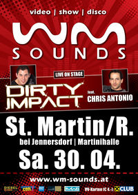 WM-Sounds St. Martin mit Dirty Impact