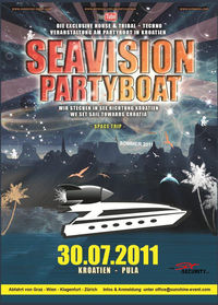 Seavision Partyboat  - Das Partyboat in Kroatien@Seavision Partyboat