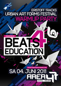 URBAN ART FORMS Festival Preparty