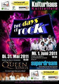 Two days of rock mit den Queen Kings