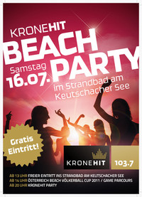 Kronehit Beachparty