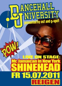 Mr. Jamaican In New York - Shinehead Live
