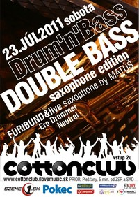 Double Bass - saxophone edition - dnb